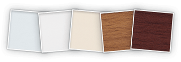 2 3280 Faux Wood Blinds