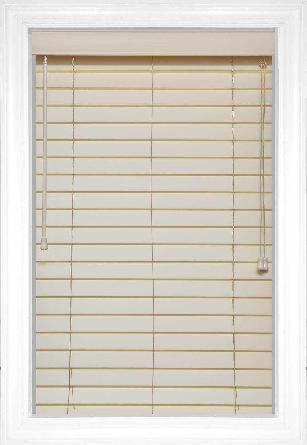Faux Wood Blinds Style Color