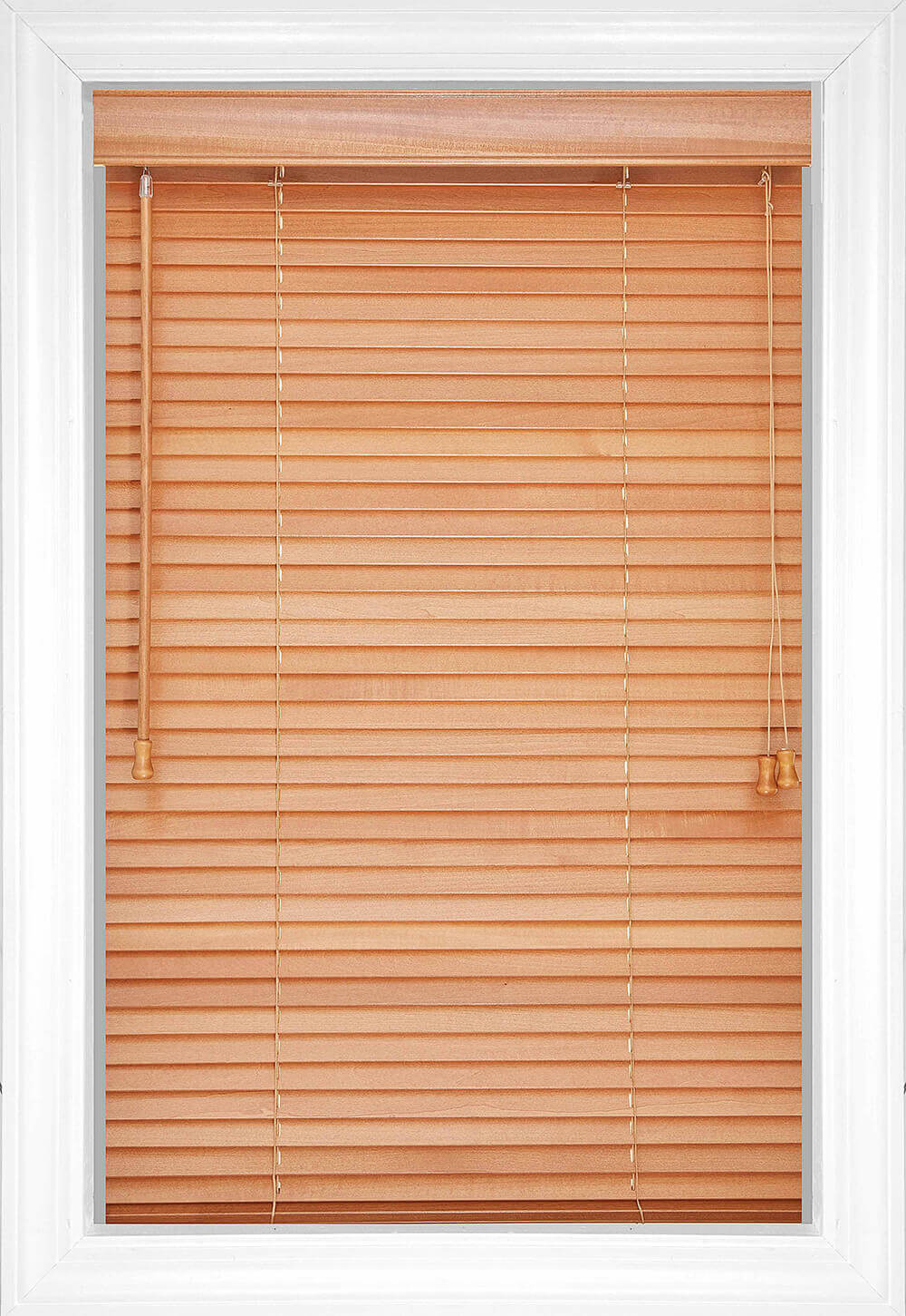 Wood Blinds Style Color