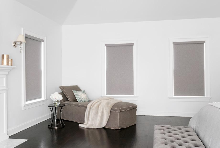 Cameo roller shades