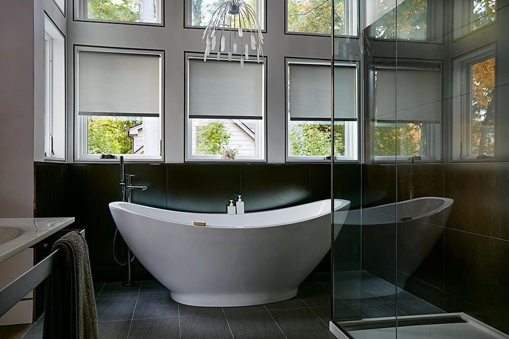 Bathroom Windows Options custom made blinds and shades | blinds to go