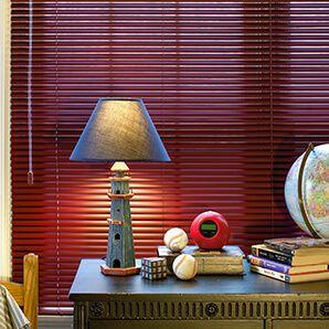 Our custom aluminum mini blinds comes in a 6 and 8 gauge slats to withstand  everyday wear and tear.