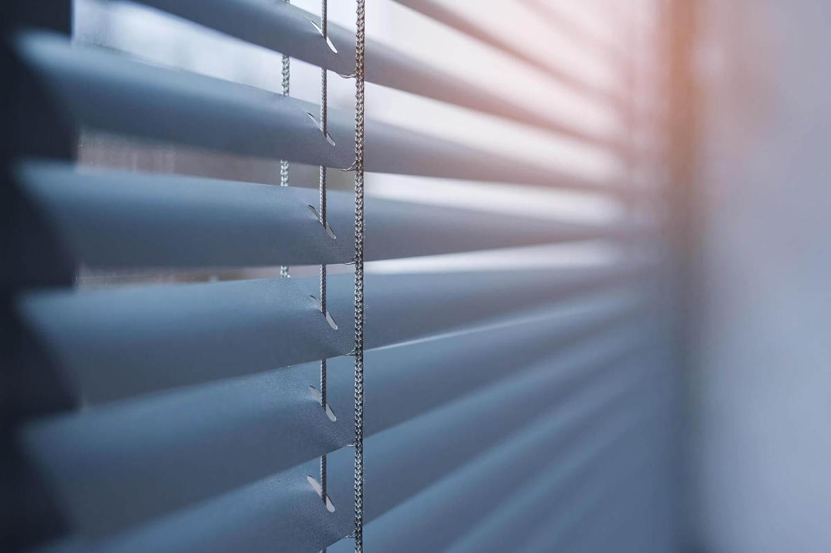 Silver Mini II Aluminum Blinds