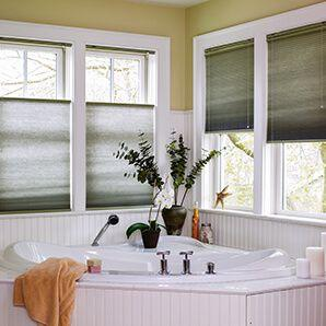 Our cellular shades comes in a wide variety of colors, styles, and options