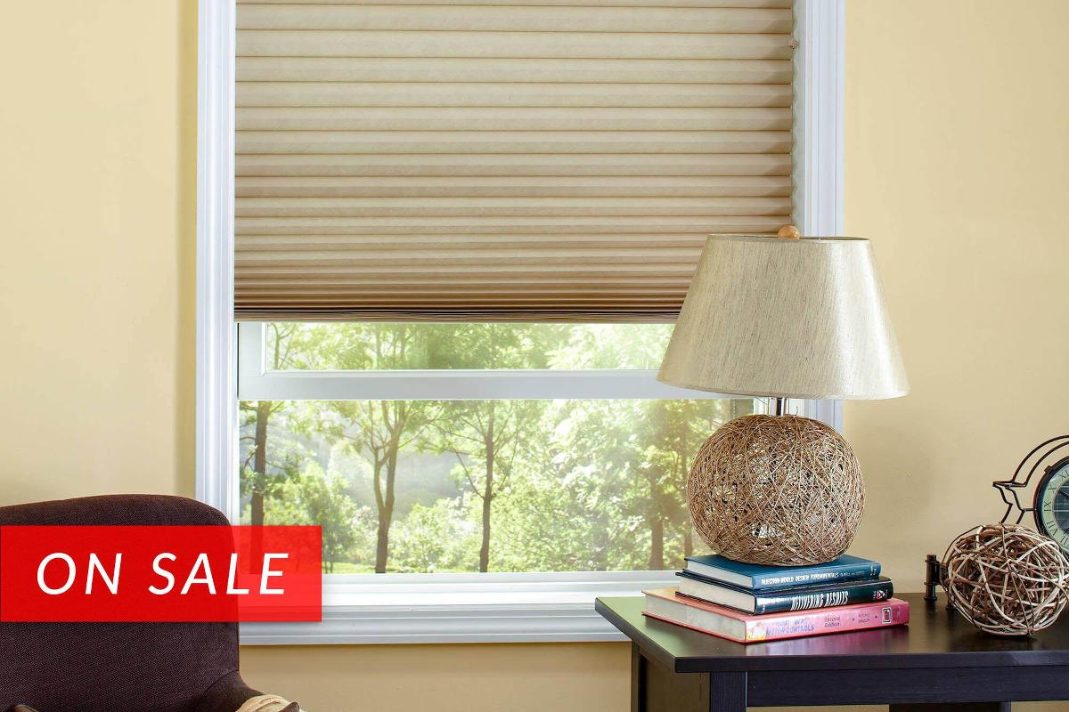 Our Classic cellular window treatment comes in both light filtering and blackout