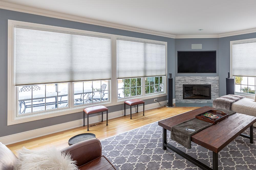 Top-down bottom up option on cellular shades