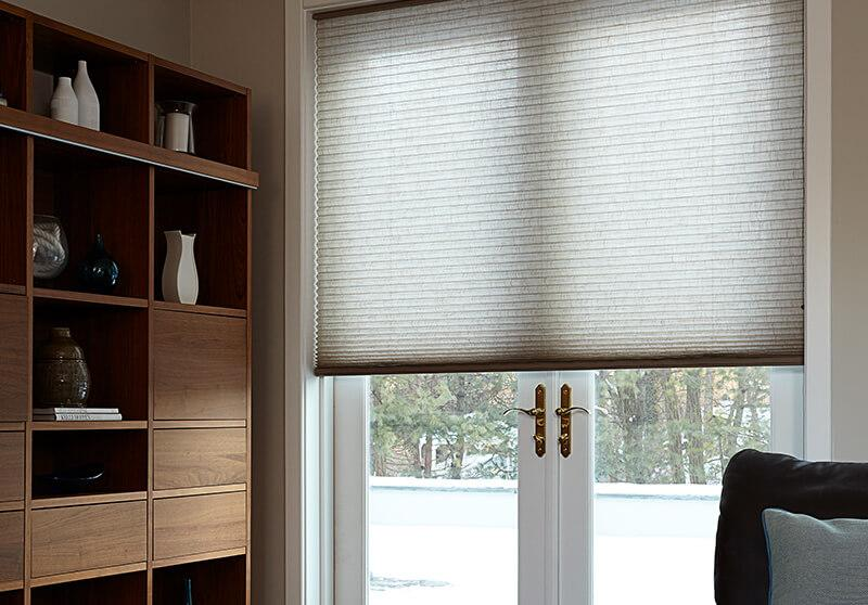 cordless cellular shades dining room