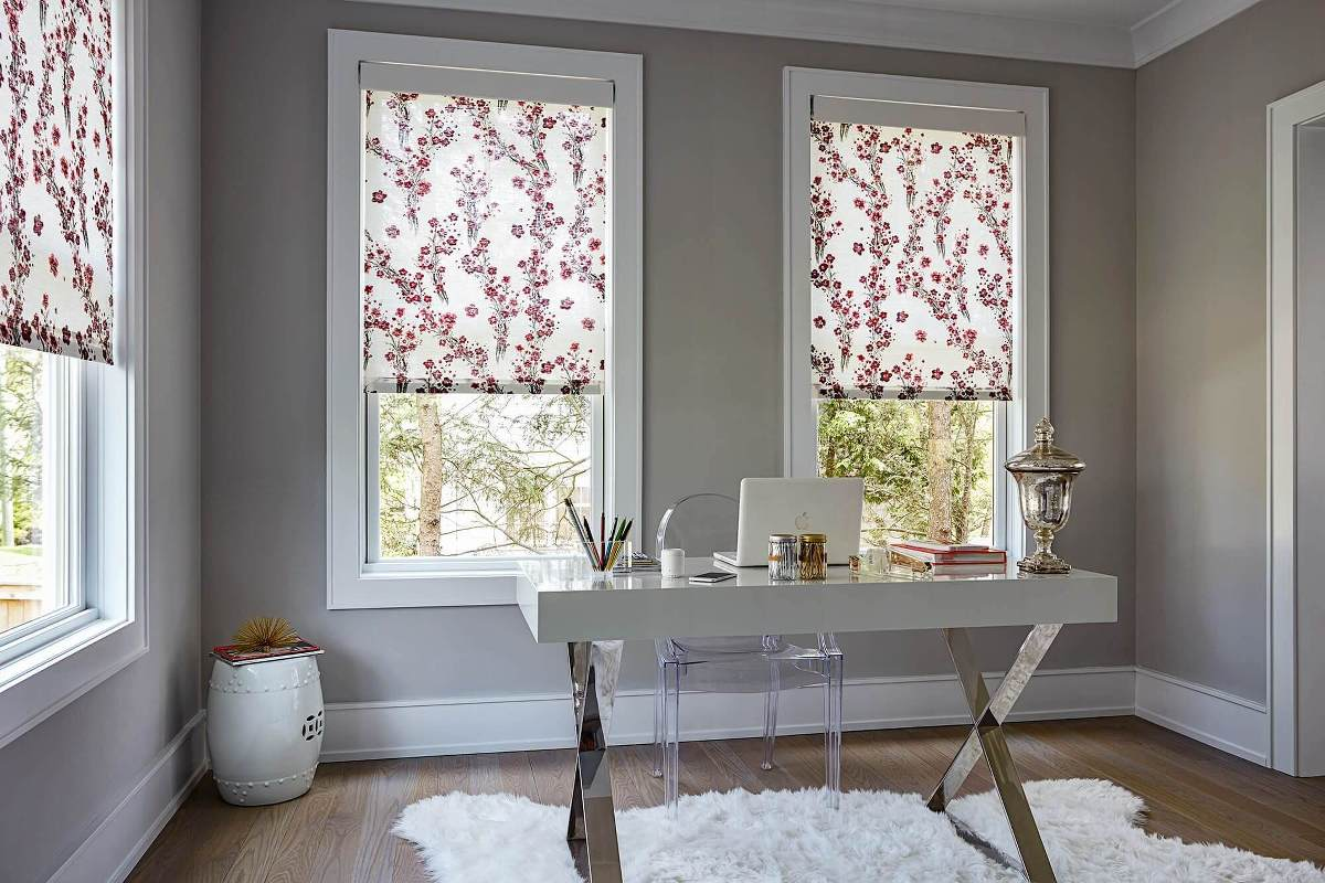 Naturally Inspired Roller Shades Custom Blinds And
