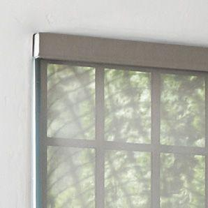 Designer fabric roller shades custom made shades for Toile fenetre opaque