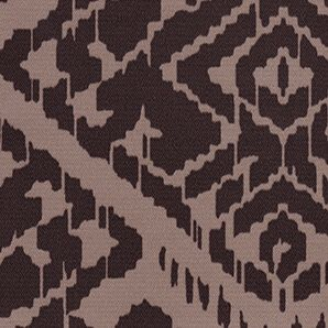 Heritage Mocha Motif Roller Shade Swatch