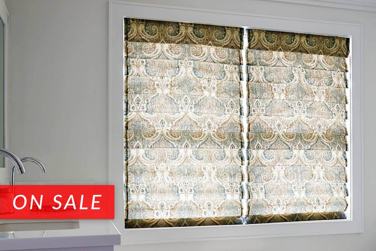 Ro Ro Roman Shade Curtain Patterns - Paisley roman shades shade