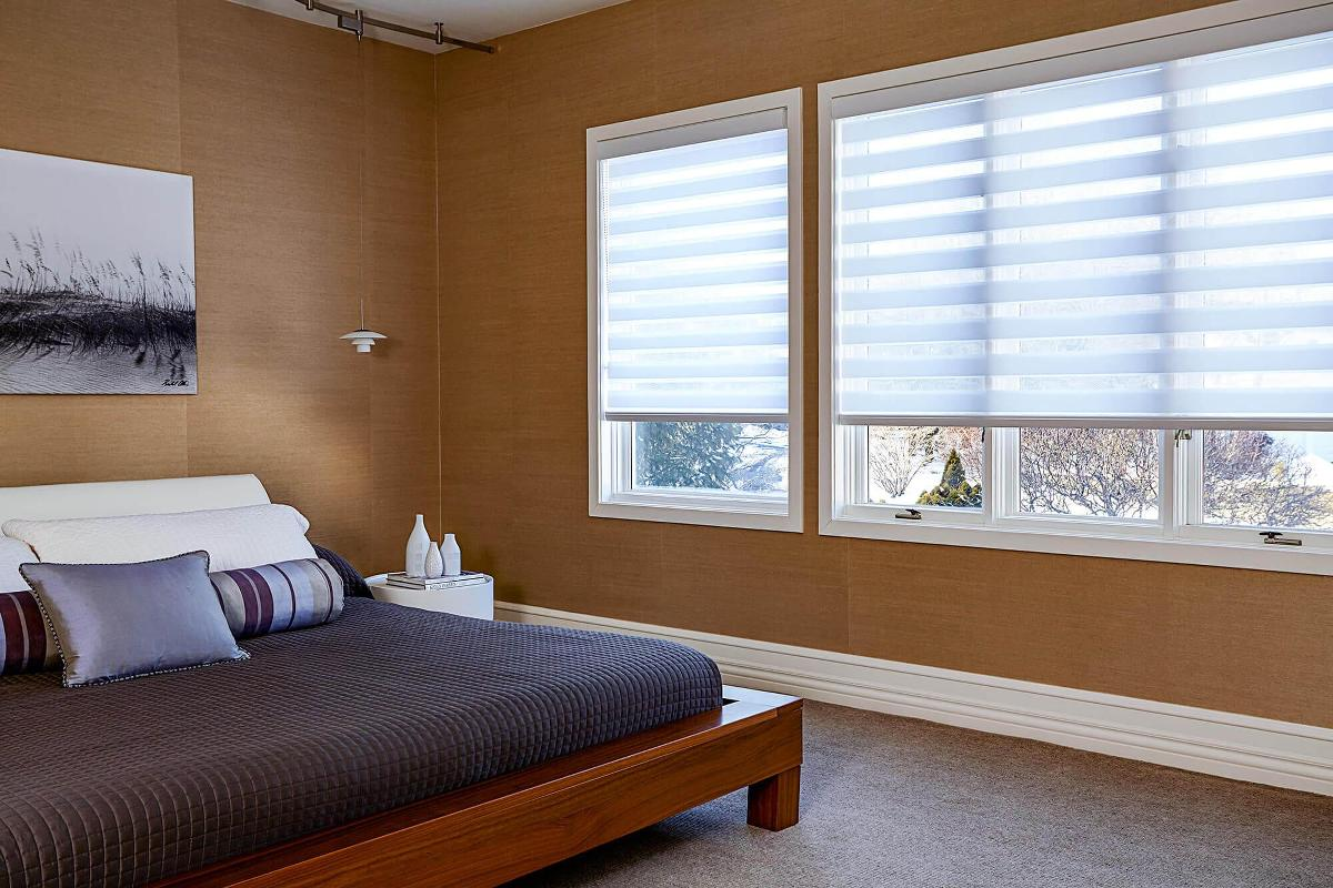 bedroom shades. Cascade Sheer Shades  Custom Made Blinds To Go