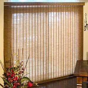 Fabric Verticals are recommended for large size windows or sliding doors