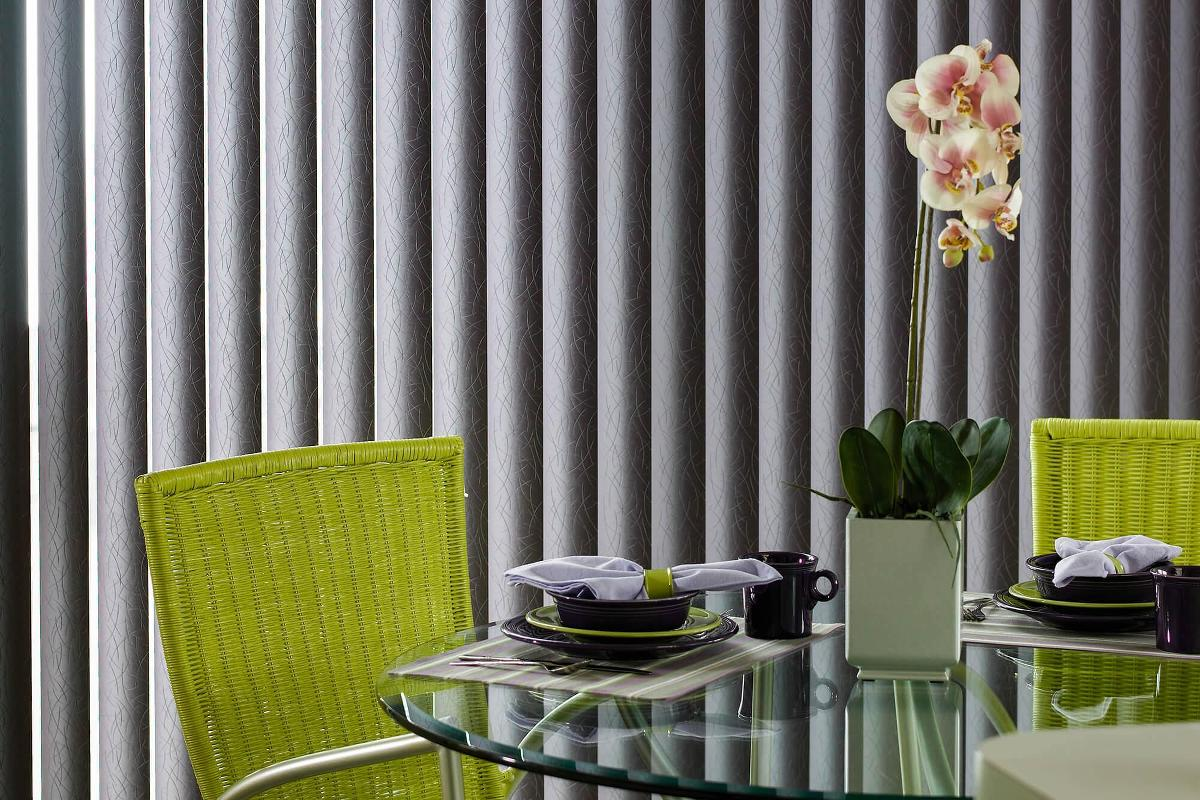 Dining VinylVertical Inspiration2 Vinyl Vertical Blinds