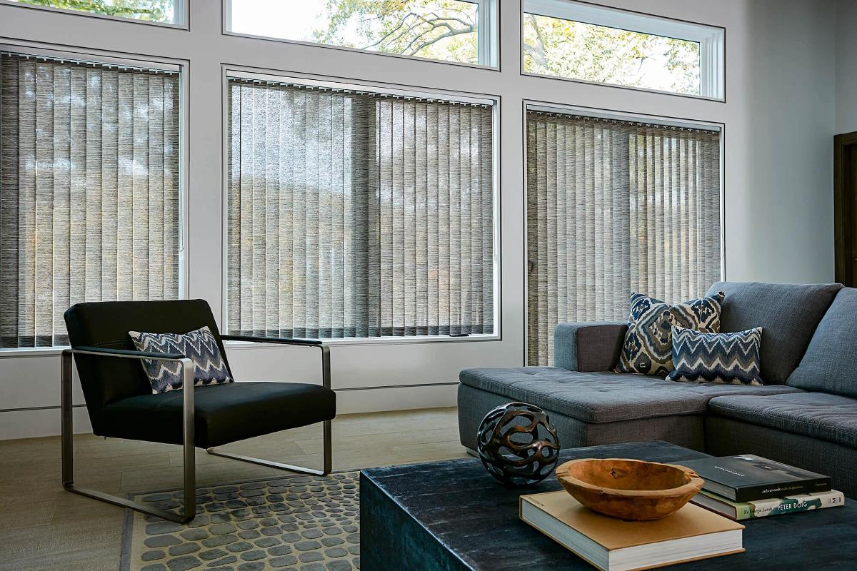 Highlands Fabric Vertical Blinds Give This Room A Spacious And Clean Feel. Part 72