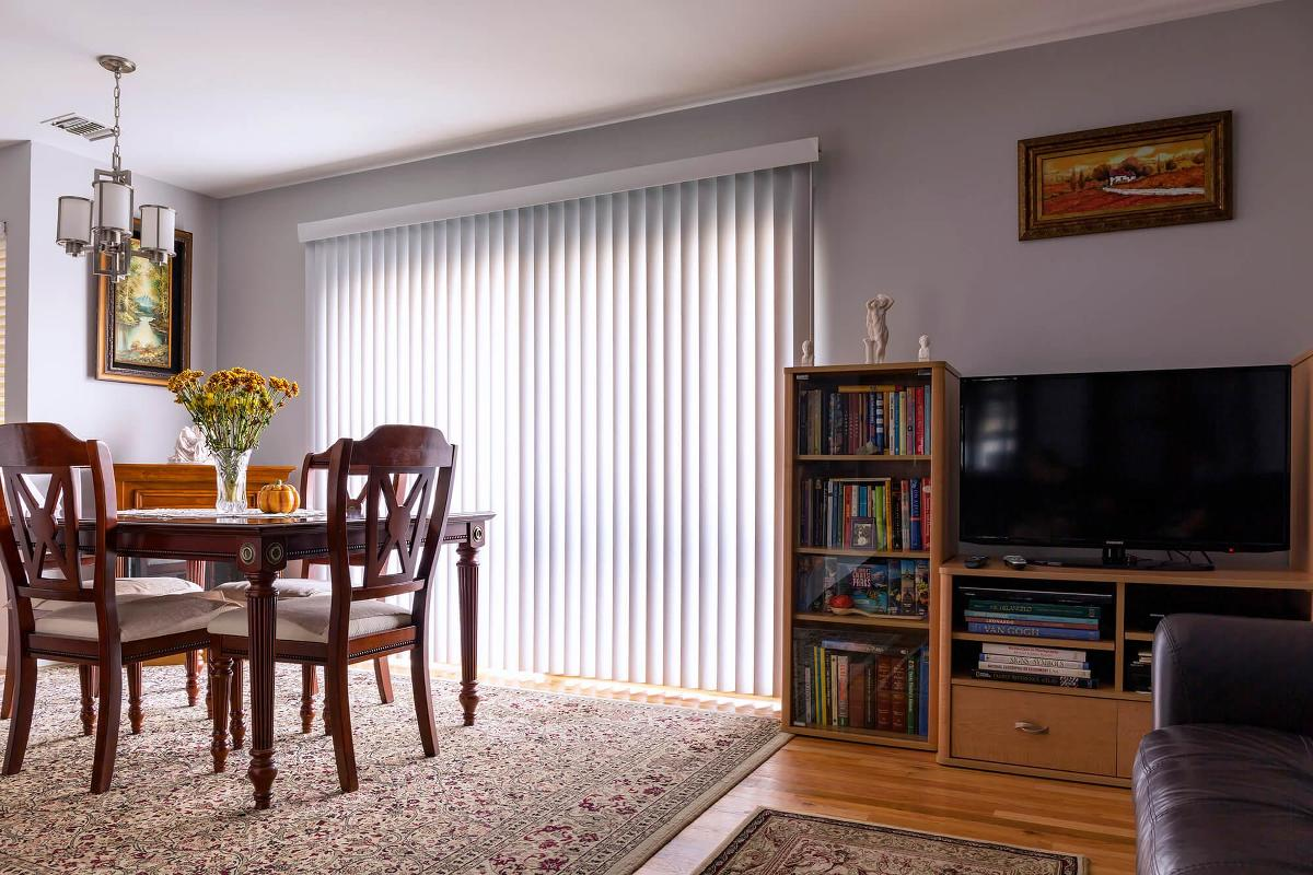 Vinyl Vertical Solids Blinds