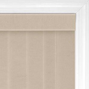 Royal valance covers up the metallic headrail with a decorative piece of fabric encased in a plastic holder.