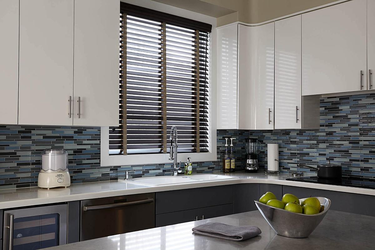 Designer Kitchen Blinds Laredo Wood Blinds  Custom Made Blinds  Blinds To Go