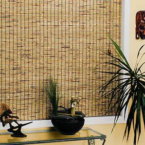 Woven wood shades are one of the many eco friendly window treatments Blinds To Go has.