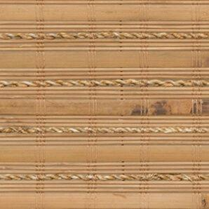 Borneo spice woven wood shade swatch