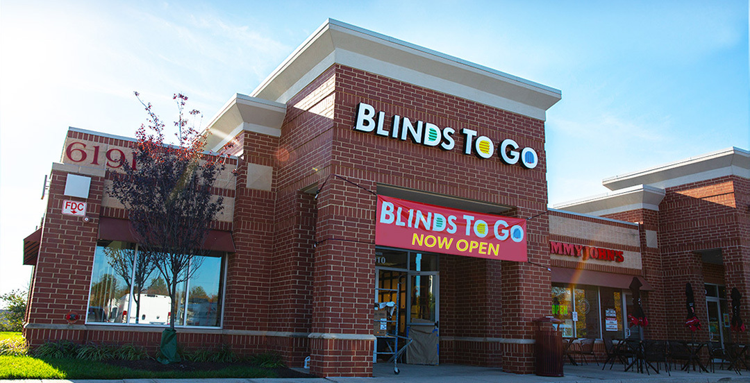 Our Columbia showroom has the largest selection of custom blinds and shades